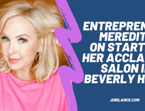 Entrepreneur Meredith talks founding her own salon and living it up in Beverly Hills!