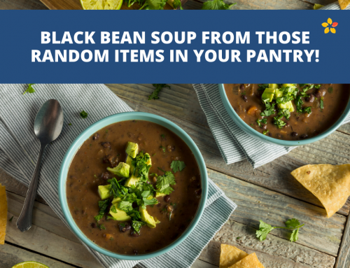 Recipes from those Random Pantry Items – Black Bean Soup Edition