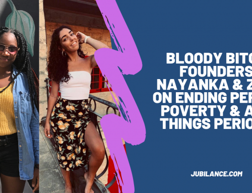 Bloody Bitches Founders Nayanka Paul & Zoe Vella on Ending Period Poverty & All Things Periods