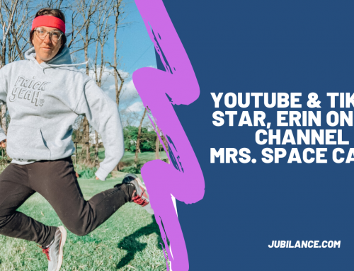 Youtube & Tiktok Star Mrs Space Cadet, Erin Azar gives us the lowdown on Marathons & Jubilance