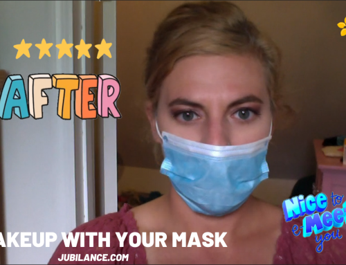 How to do your makeup while wearing a mask